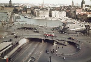 Stockholm, Stockholm, Stockholm, Uppland, Miljöer-Stadsmiljö, Byggnadsverk-Kommunikationsväsen-Trafikanläggning